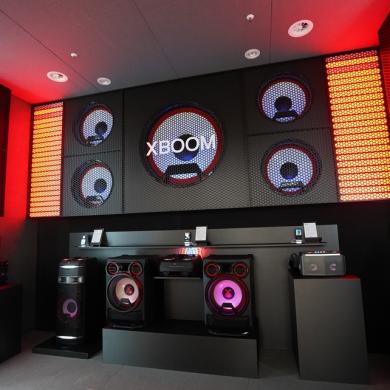 'LG 사운드'의 경쟁력 보여준 '엑스붐'