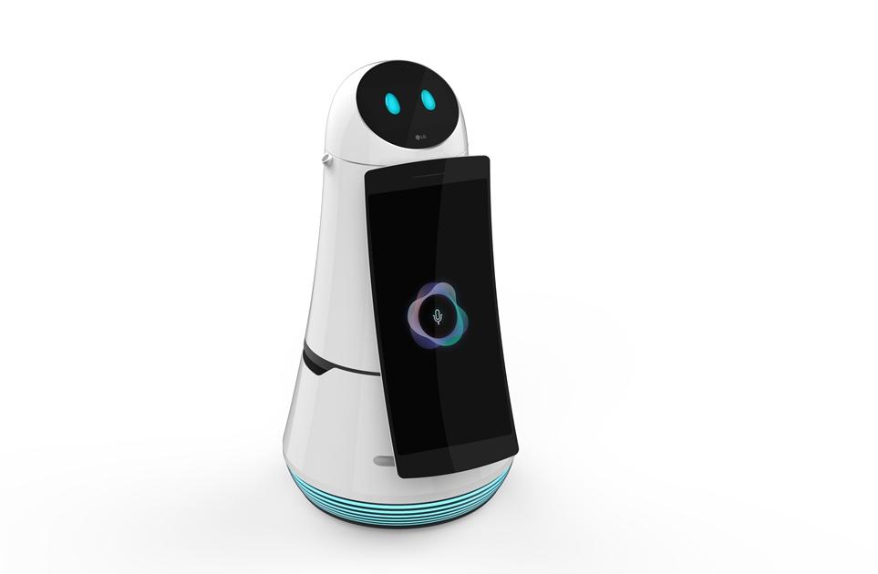 LG 클로이 안내 로봇 디자인