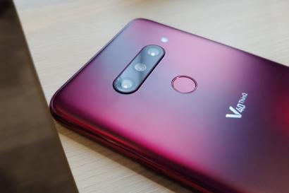 [현장 취재] 스마트폰 카메라의 새로운 기준 &#8216;LG V40 <sup>ThinQ</sup>&#8216;