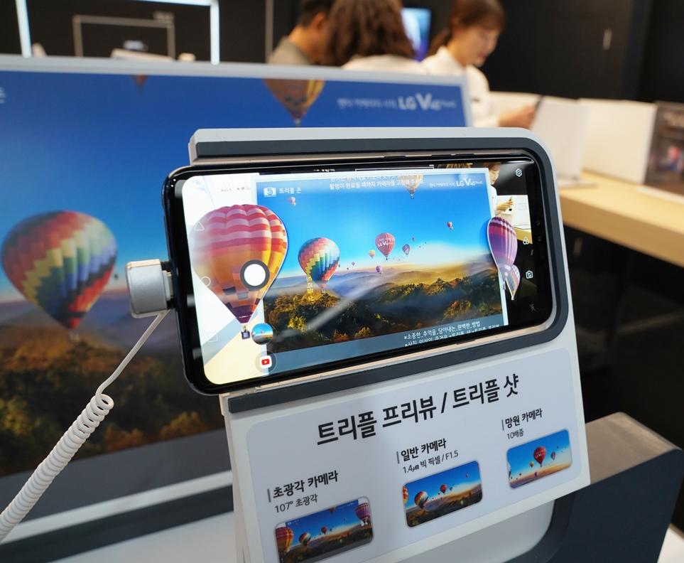 LG V40 ThinQ 트리플 프리뷰 / 트리플 샷