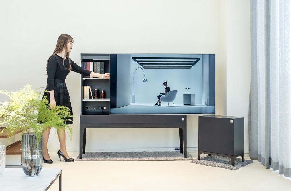 LG Objet TV