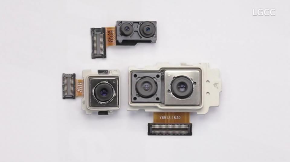 LG V40 ThinQ 카메라