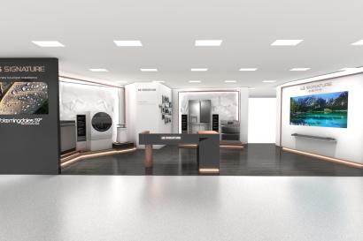 LG전자가 이달 19일 미국 뉴욕에 위치한 프리미엄 백화점 '블루밍데일스' 본점 8층에 초프리미엄 생활가전 'LG 시그니처' 매장을 연다. 블루밍데일스가 TV, 세탁기, 냉장고 등 생활가전을 공식 판매하는 것은 이번이 처음이다.