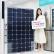 LG전자가 LG베스트샵에서 가정용 태양광 발전시스템을 할인판매하며 친환경 신재생 에너지 확대에 적극 나선다. 모델이 LG 가정용 태양광 패널을 소개하고 있다.