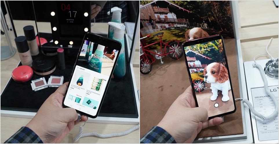 LG V40 ThinQ AI 카메라
