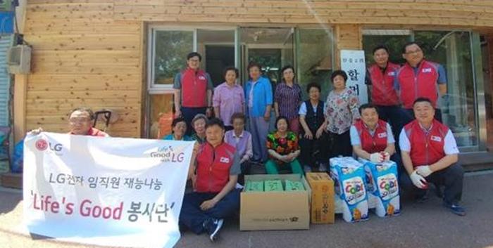 강북팀 <사랑나누미봉사단> 2018년 봉사활동