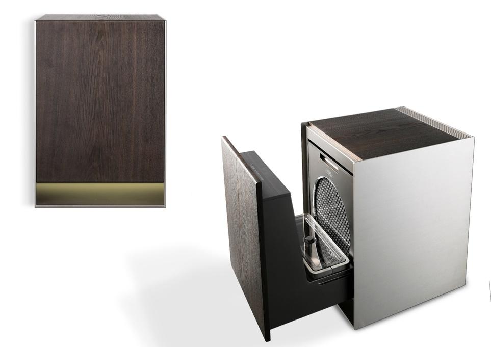 LG Objet 가습 공기청정기 협탁 디자인 모습