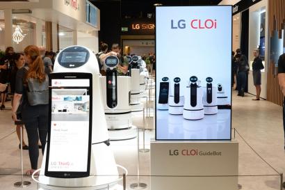 LG전자가 추구하는 '로봇'은?