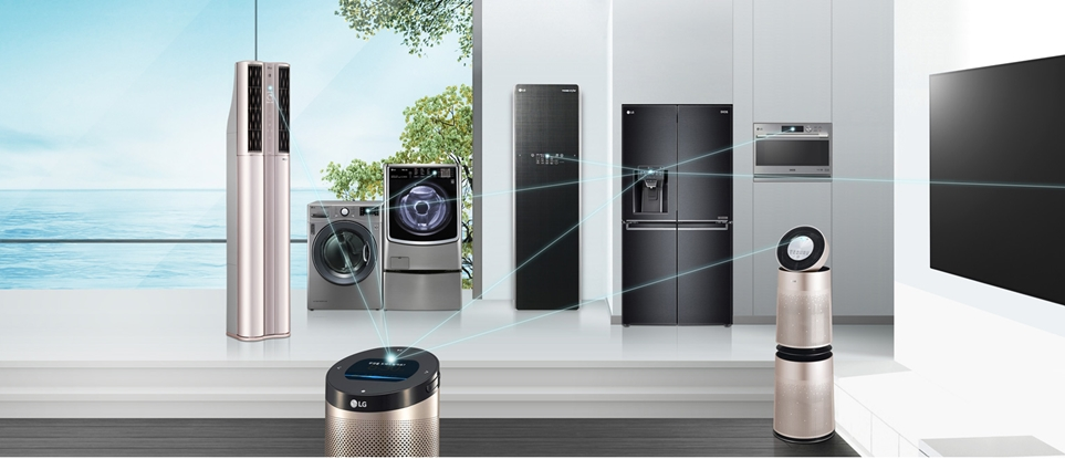 LG ThinQ AI 스마트 홈