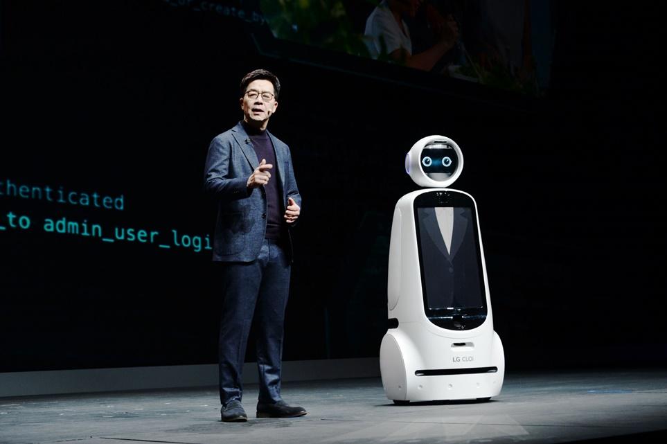 LG전자CTO(최고기술책임경영자) 박일평 사장의 CES 2019 기조 연설