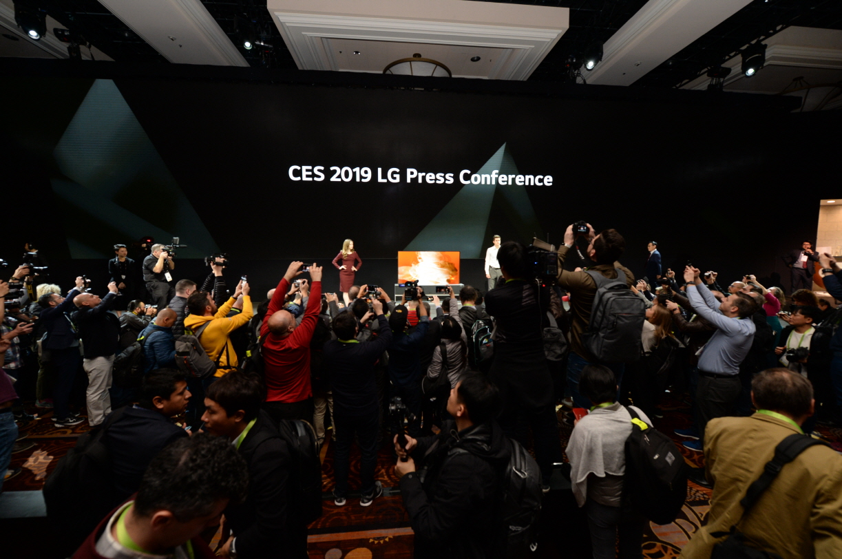 CES 2019 LG 프레스컨퍼런스