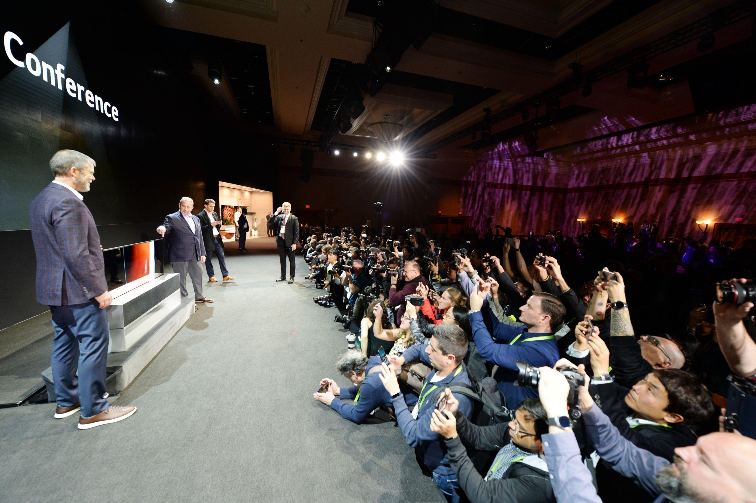 CES 2019 LG 프레스컨퍼런스 현장
