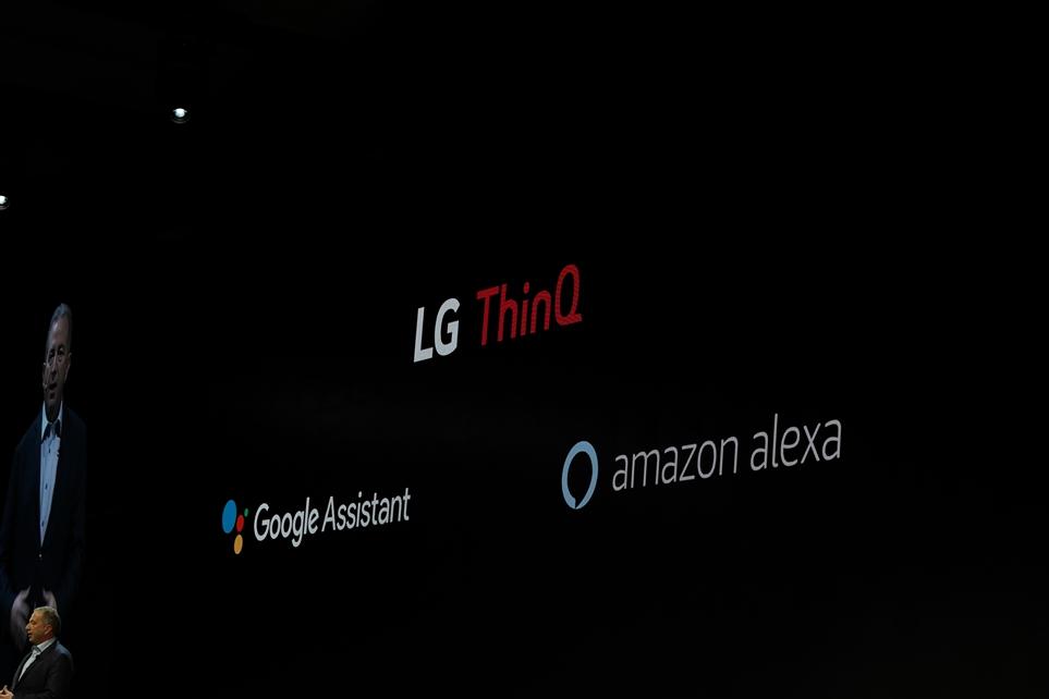 구글 어시스턴트, 아마존 알렉사 모두 사용 가능한 LG ThinQ