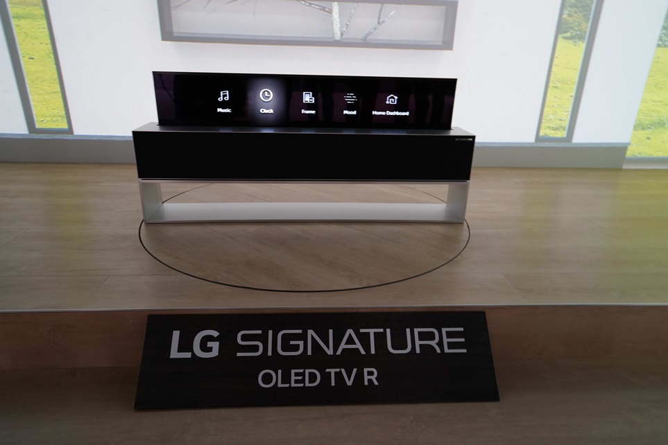 LG 시그니처 올레드TV R 라인 뷰
