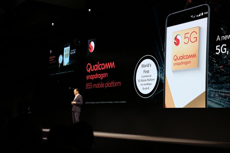 LG전자가 퀼컴의 5G 기술을 탑재한 제품을 2019년에 선보일 것