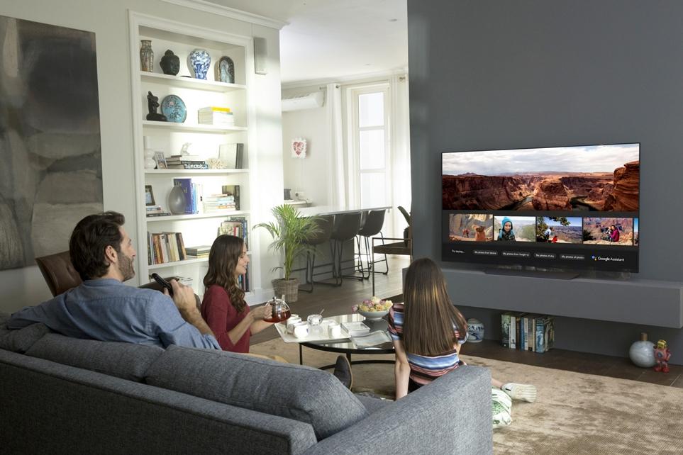 일반 TV 모습