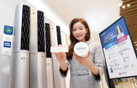 LG전자는 4월 1일까지 LG 휘센 에어컨을 구입하는 고객에게 실속있는 혜택을 제공한다. '듀얼 프리미엄' 이상 모델을 구입하는 고객 5천 명은 20만 원 상당의 '에너지 모니터링 키트'를 받을 수 있다.