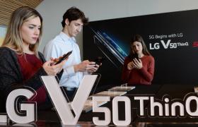 'MWC19' 시작! LG V50 ThinQ – G8 ThinQ 동반 출격