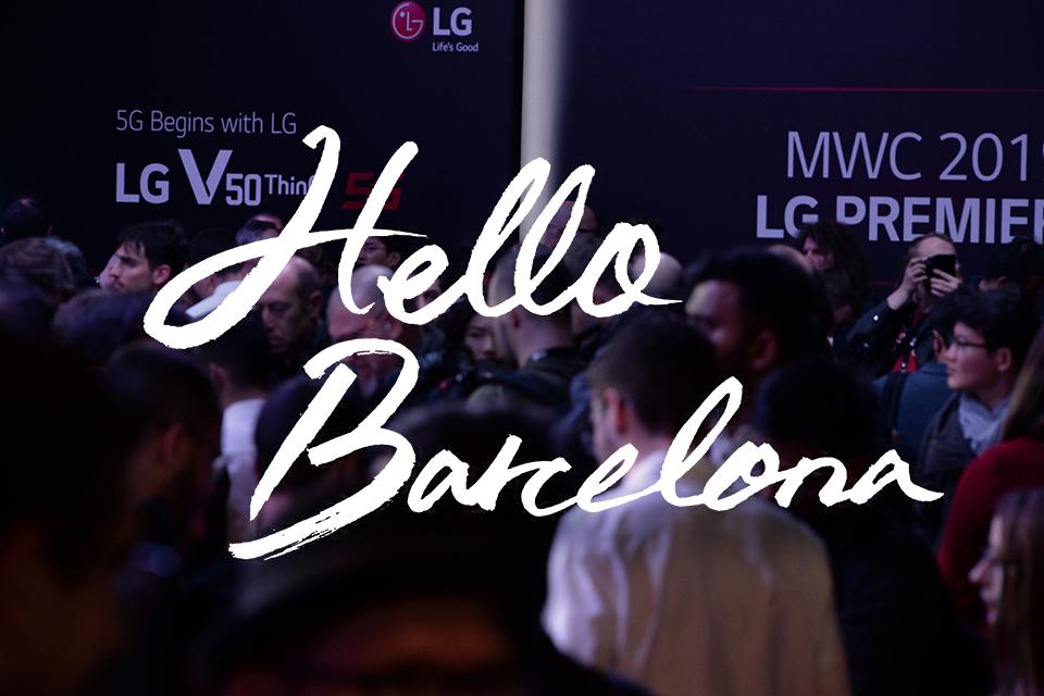 Hello, Barcelona