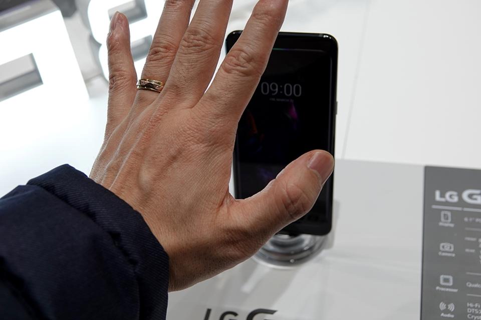 LG G8 ThinQ 정맥인식