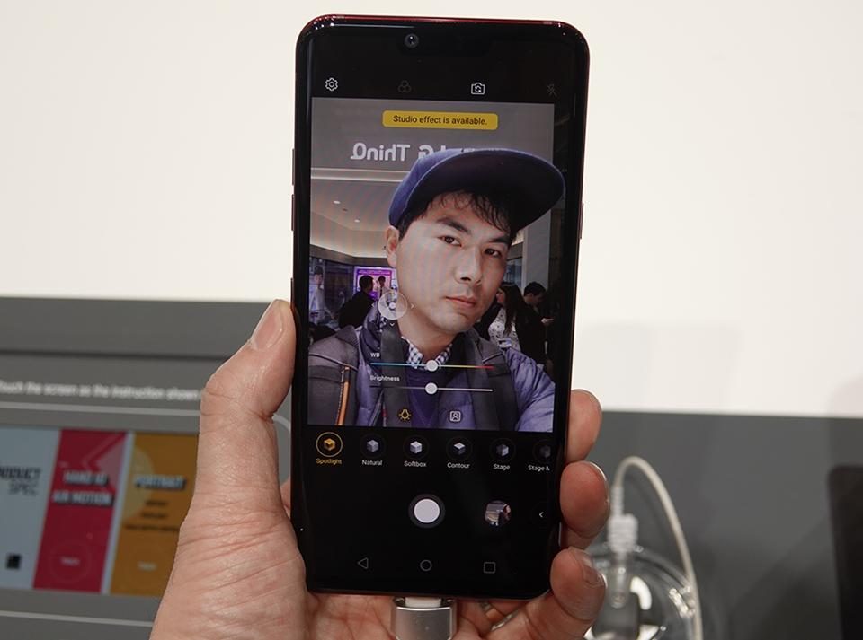 LG G8 ThinQ 아웃포커스 효과