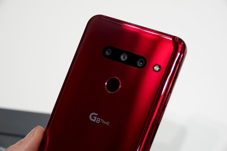 LG G8 ThinQ 후면 카메라