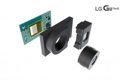 LG전자가 이달 공개하는 LG G8 ThinQ 전면에 사물을 입체적으로 인식할 수 있는 ToF(비행시간 거리측정, Time of Flight) 방식 3D센서를 탑재한다. LG전자는 ToF 센서가 스마트폰의 사용성을 크게 높이며 고객들에게 새로운 가치를 제공할 수 있을 것으로 기대하고 있다. 사진은 LG전자가 LG G8 ThinQ에 탑재하는 ToF 센서의 구조를 나타내는 개념도.