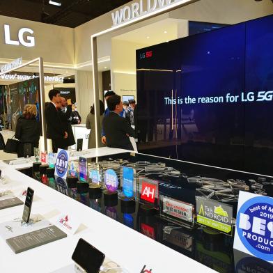 LG V50 ThinQ·LG G8 ThinQ, MWC 2019서 '好評'