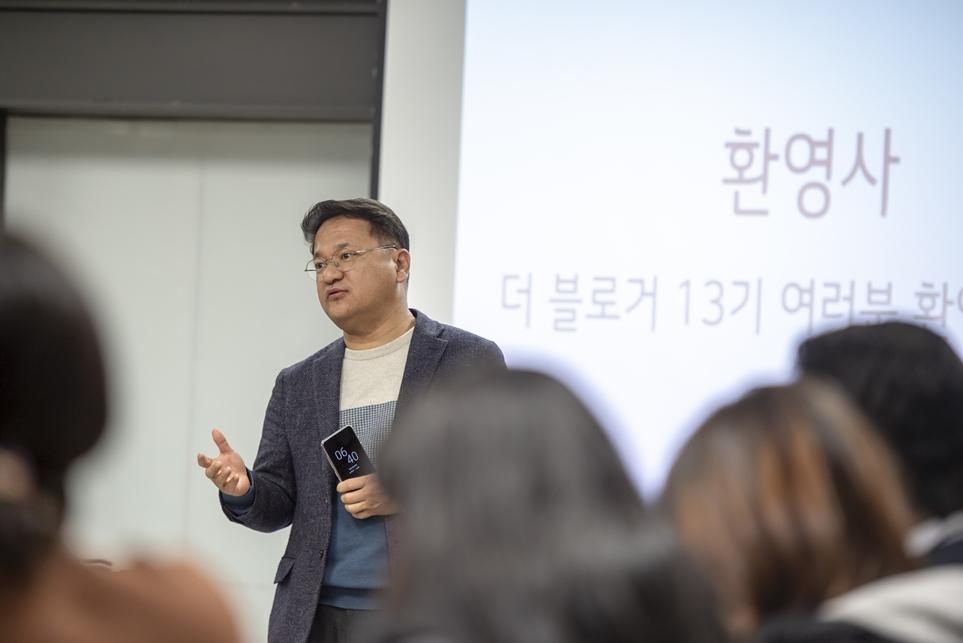 LG전자 홍보담당 오세천 상무