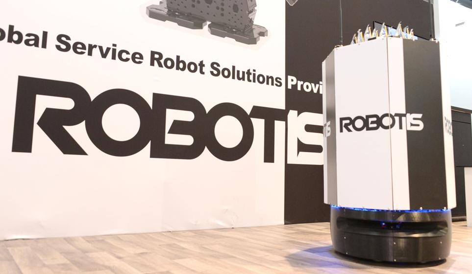 로보티스(ROBOTIS) 기계 모습