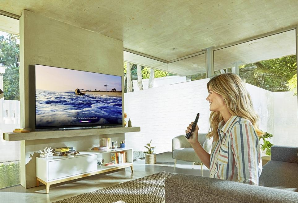 LG전자가 독자 개발한 인공지능 기술과 '구글 어시스턴트(Google Assistant)'가 동시에 탑재
