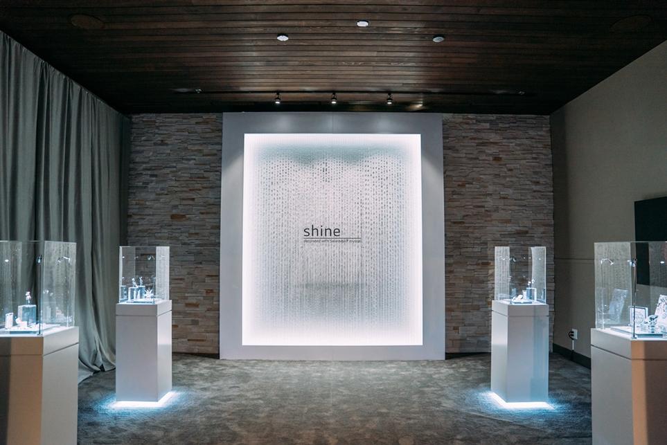 샤인(shine)의 전시 공간
