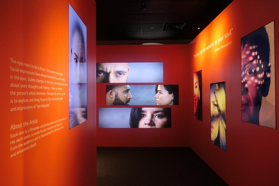'LG 인스퍼레이션 갤러리'의 'LG 클로이 케어봇' 전시관