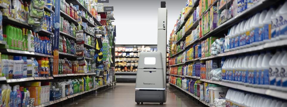 보사노바 로보틱스가 운영중인 매장관리 로봇