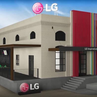 LG전자가 세계 최대 규모 페스티벌인 사우스 바이 사우스웨스트(SXSW)에서 8일부터 5일간 단독 전시장인 'LG 인스퍼레이션 갤러리(LG Inspiration Gallery)'를 열어 혁신적인 아이디어를 대거 공개한다. 사진은 LG 인스퍼레이션 갤러리 외관 이미지.