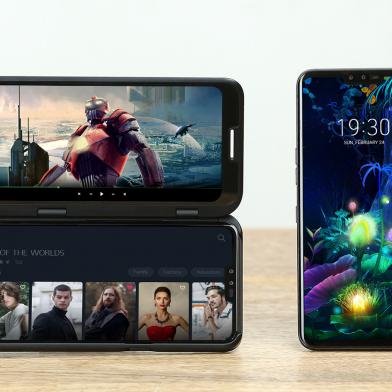 LG V50 ThinQ 제품 사진