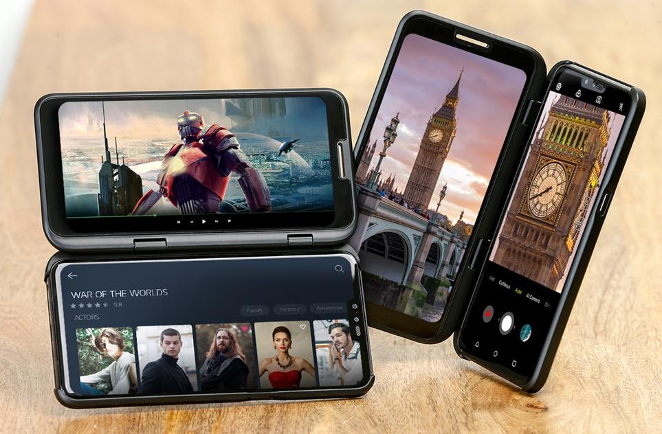 LG V50 ThinQ 듀얼 스크린