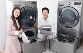 LG전자가 2015년 처음 선보인 트롬 트윈워시가 신개념 세탁문화를 이끌며 올해도 고성장을 이어가고 있다.올해 3월까지 국내시장에서 판매한 트윈워시는 지난해 같은 기간과 비교하면 판매량 기준 약 1.5배 늘었다. 2년 전 같은 기간과 비교하면 약 2배 증가했다. 미니워시가 결합된 트윈워시 건조기 제품