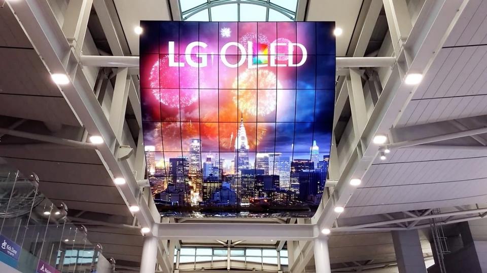 LG OLED 디지털 사이니지