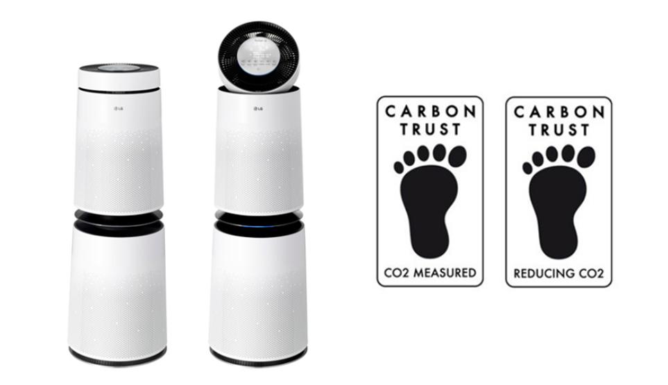 탄소 발자국 2종 ((Measured/Reducing Label)을 세계 최초로 동시에 취득한 친환경 제품