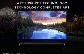 LG 시그니처_냉장고/세탁기/올레드TV/캠페인 : LG전자가 17일부터 超프리미엄 가전 'LG 시그니처'의 새로운 글로벌 디지털 캠페인을 펼친다. 캠페인 슬로건은 '기술에 영감 주는 예술, 예술을 완성하는 기술'이다. 사진은 캠페인 영상 캡쳐 이미지.