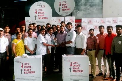 인도 47개 도시서 대규모 헌혈캠페인 진행