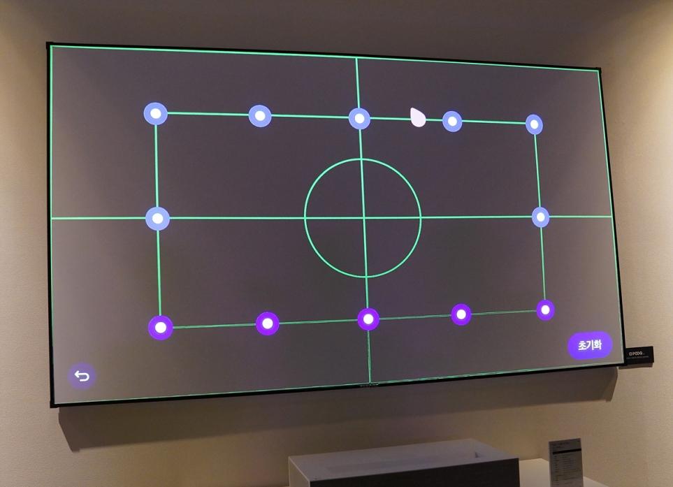 공간 제약 없는 12포인트 화면맞춤으로 홈 시네마 구현!