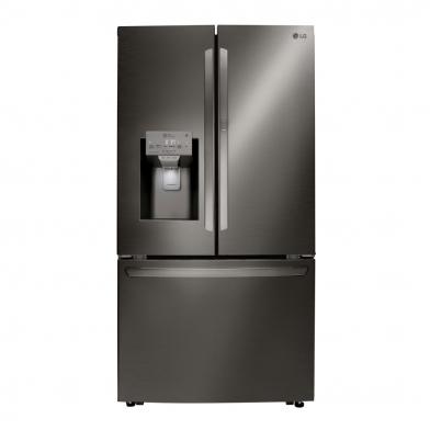 냉장고 안쪽의 공간 활용성을 높여주는 독보적인 도어 제빙 기술로 LG전자 얼음정수기냉장고는 미국 시장에서 최고 프리미엄 제품으로 인정받고 있다.