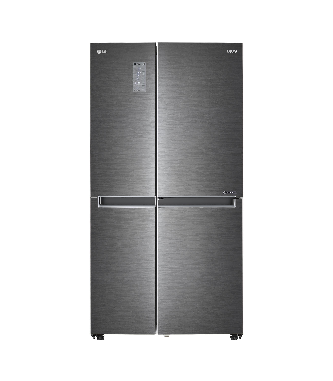 에너지대상 및 산업통상자원부장관상을 받은 LG전자 디오스 양문형 냉장고