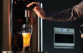 양조장에서 갓 만든 맥주 첫 잔의 감동을 그대로! LG 홈브루