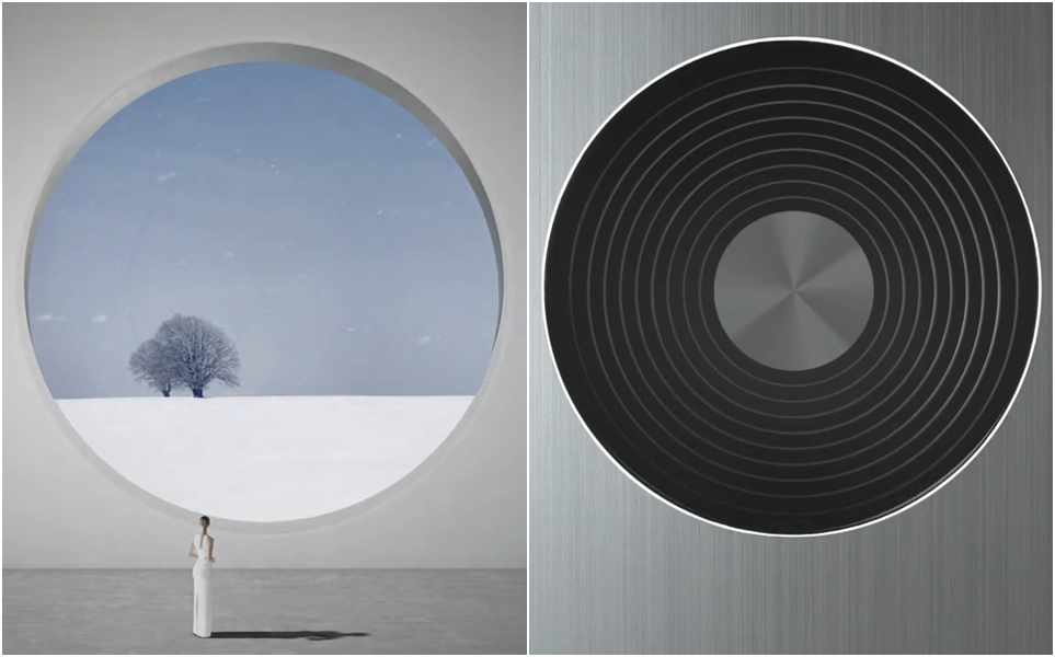 LG 시그니처 에어컨의 시원한 바람을 형상으로 구현하면서 공간과의 조화까지 담아낸 디자인