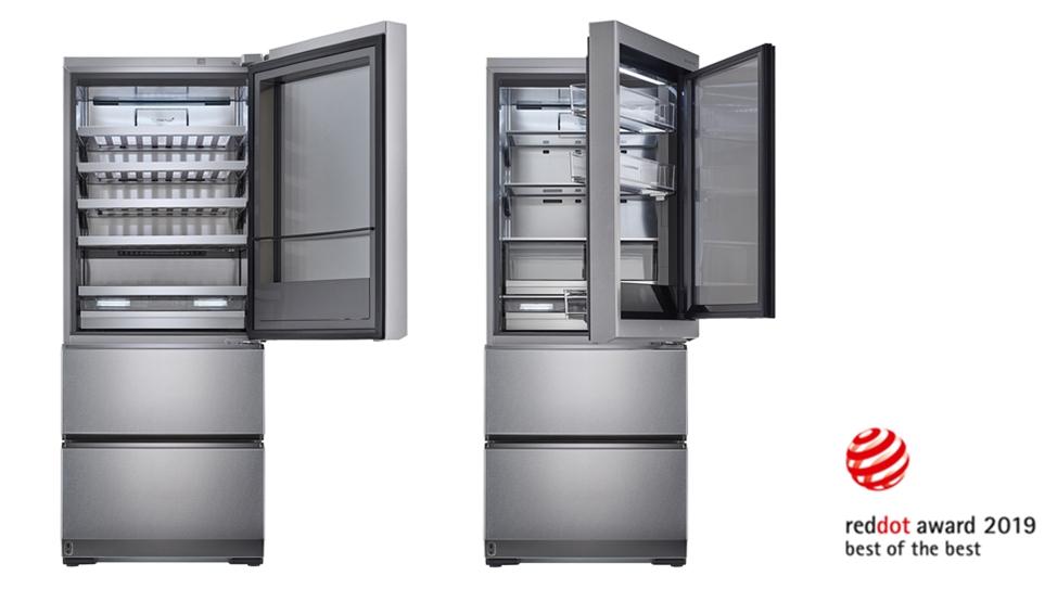 레드닷 디자인 어워드 Best of Best : LG 시그니처 상냉장 하냉동 냉장고