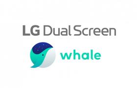 네이버 '웨일(Whale)'과 손잡고 'LG 듀얼 스크린' 생태계 확장 속도 낸다