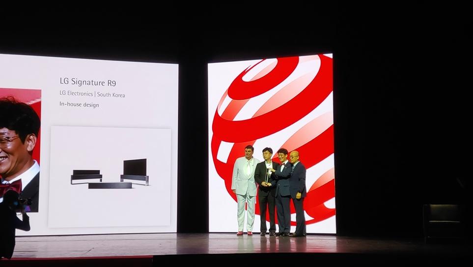 피날레를 장식한 LG 시그니처 올레드 TV R